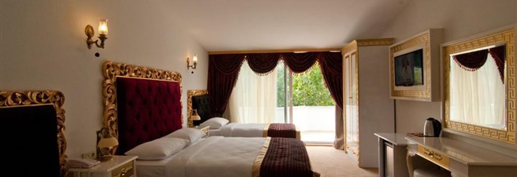 발리 코낙 호텔 - 이스탄불 - 침실