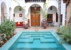 Riad Ghali & Spa - 마라케시 - 수영장