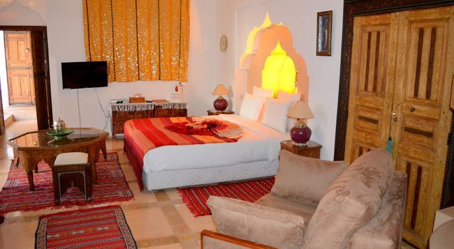 Riad Ghali & Spa - 마라케시 - 침실