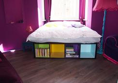 Box61 Art Concept Flat - 베를린 - 침실
