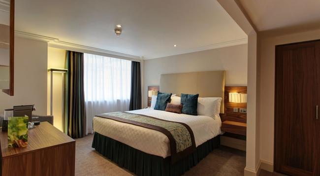 암바 호텔 마블 아치 - 런던 - 침실
