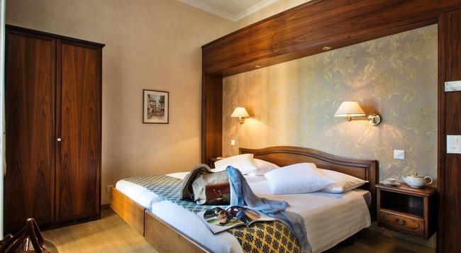 호텔 인터내셔널 어우 락 - 루가노 - 침실