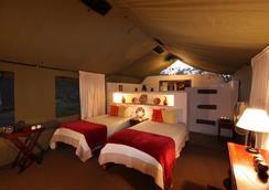 Elephant Valley Lodge - Kasane - 침실