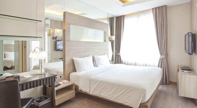 브이 레지던스 호텔 앤 서비스 아파트먼트 - 방콕 - 침실