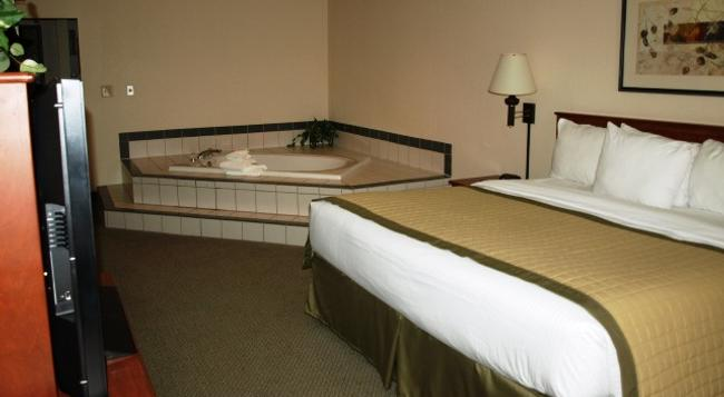 New Victorian Inn & Suites in Sioux City, IA - Sioux City - 침실