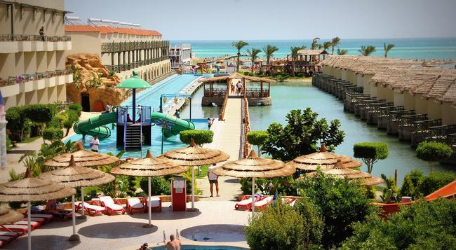 Panorama Bungalows Aqua Park Hurghada - 후르가다 - 해변