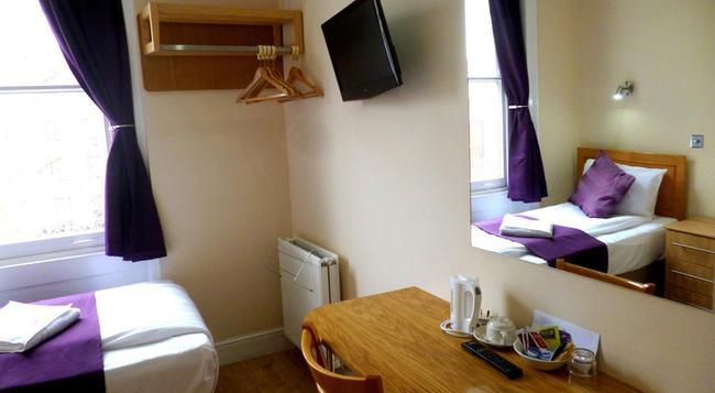 카디프 호텔 - 런던 - 침실