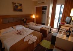 Oba Star Hotel & Spa - 알라냐 - 침실