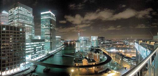 브리타니아 더 인터내셔널 호텔 런던, 카나리 와프 - 런던 - 야외뷰