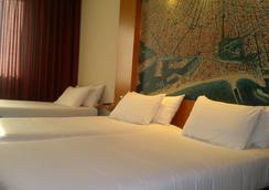 아바 샌츠 호텔 - 바르셀로나 - 침실