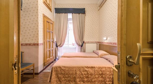 호텔 오르비스 - 로마 - 침실