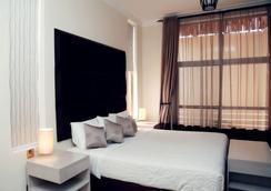 에어포트 뷰 호텔 - Entebbe - 침실