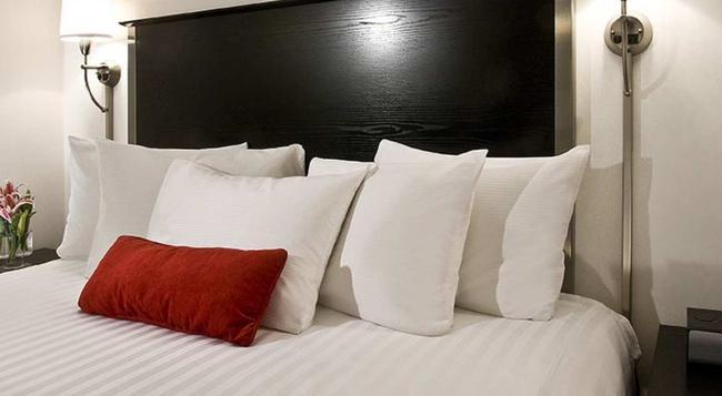 36 허드슨 호텔 - 뉴욕 - 침실