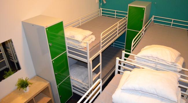 인터호스텔 - 스톡홀름 - 침실