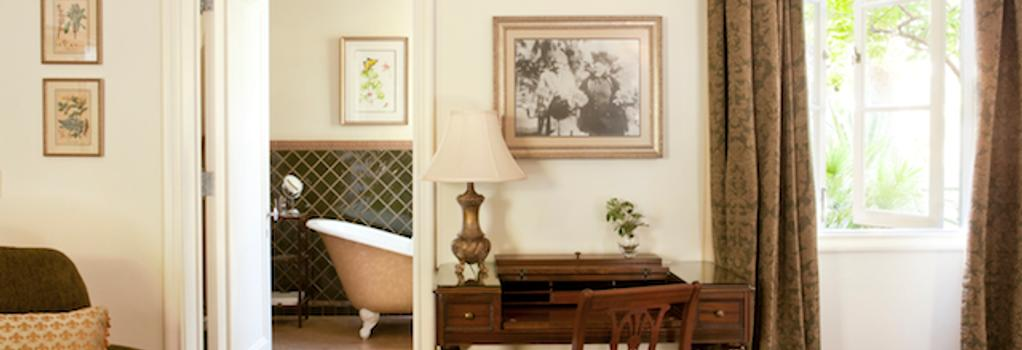 The Willows Historic Palm Springs Inn - 팜스프링스 - 침실