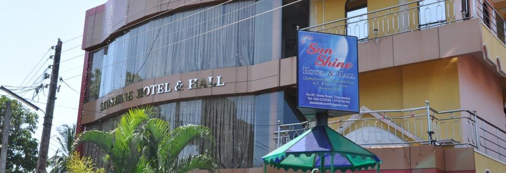 Sunshine Hotel & Hall - Trincomalee - 건물