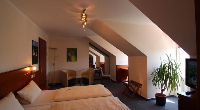 Hotel Heide Residenz - 파더본 - 침실