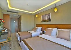 Corner Hotel Laleli - 이스탄불 - 침실