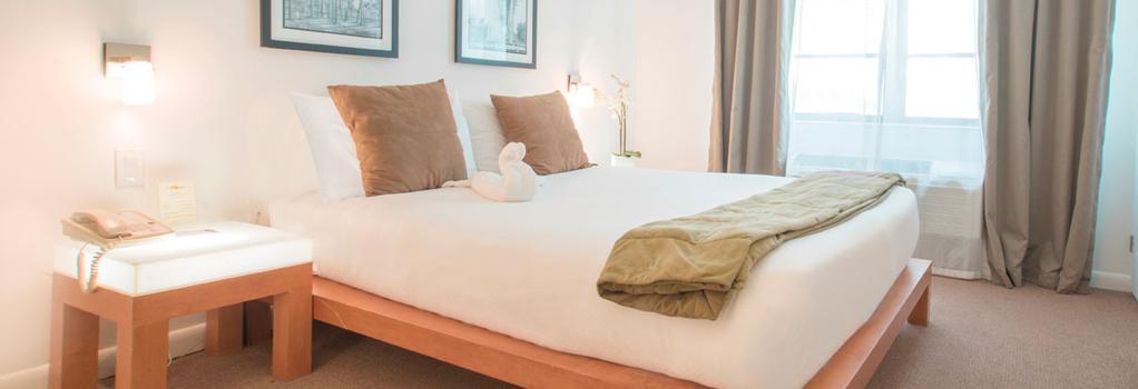 Mimosa Hotel - 마이애미비치 - 침실