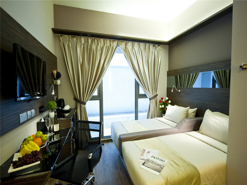 파크 소버린 호텔 - 티릿 - 싱가포르 - 침실