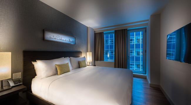더 버닉 호텔 - 뉴욕 - 침실