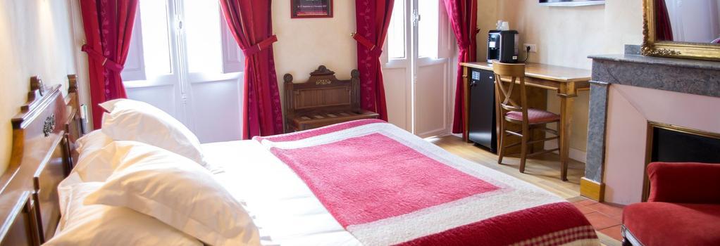 호텔 앨버트 1er - 툴루즈 - 침실
