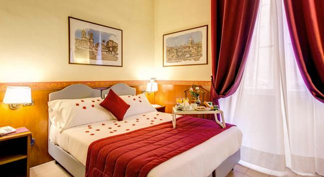 호텔 기오토 플라비아 - 로마 - 침실