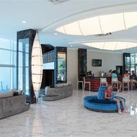 Ocean Blue High Class Hotel Lobby