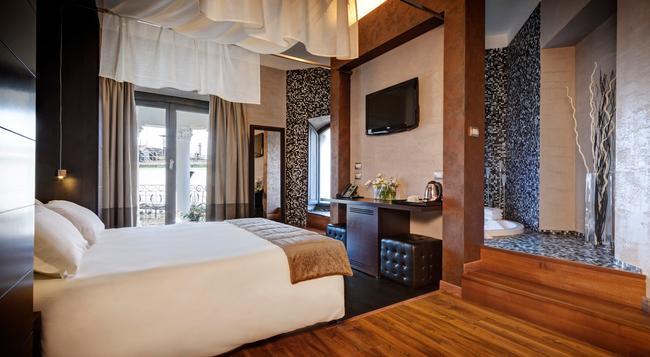 다르마 호텔 & 럭셔리 스위트 - 로마 - 침실
