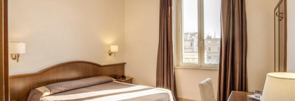 산 마르코 호텔 - 로마 - 침실