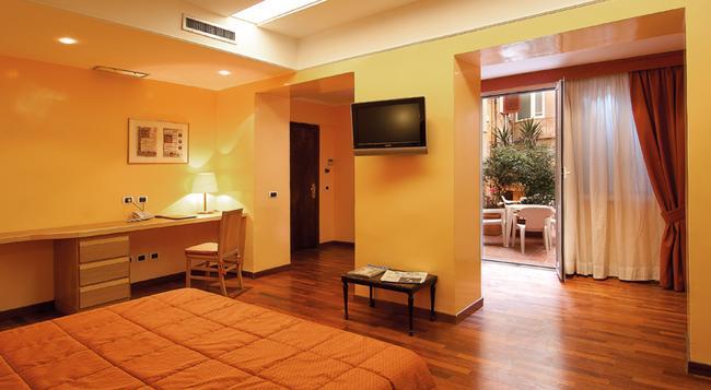 호텔 세실 - 로마 - 침실