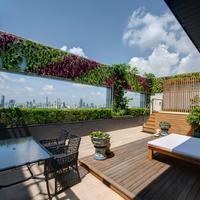 빠뚜남 프린세스 호텔 Terrace/Patio