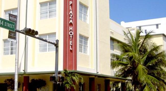 사우스 비치 플라자 호텔 - 마이애미비치 - 건물