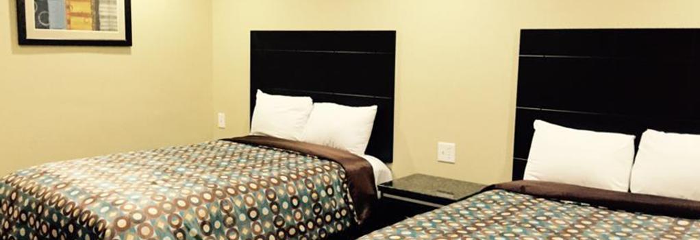 버크셔 모터 호텔 - 샌디에이고 - 침실