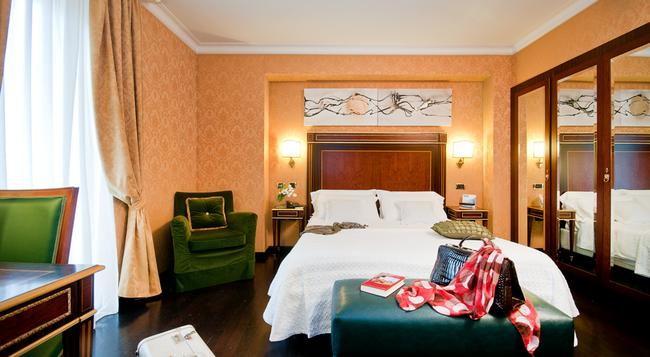 트릴루사 팰리스 호텔 콘그레스 & 스파 - 로마 - 침실