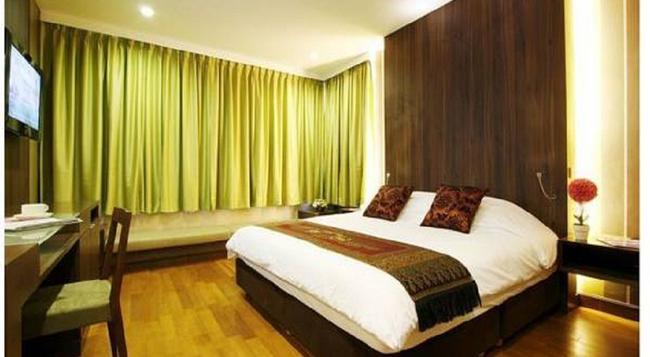Monal Boutique Hotel - 샌안토니오 - 침실