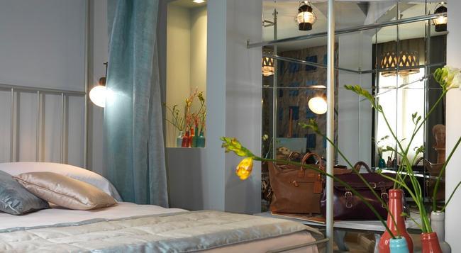 호텔 빌라 술라르노 - 피렌체 - 침실