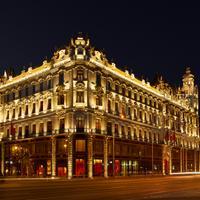 부다-바 호텔 부다페스트 클로틸드 팰리스 Hotel Front - Evening/Night