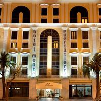 호텔 몬테 푸에르타티에라 Hotel Front - Evening/Night