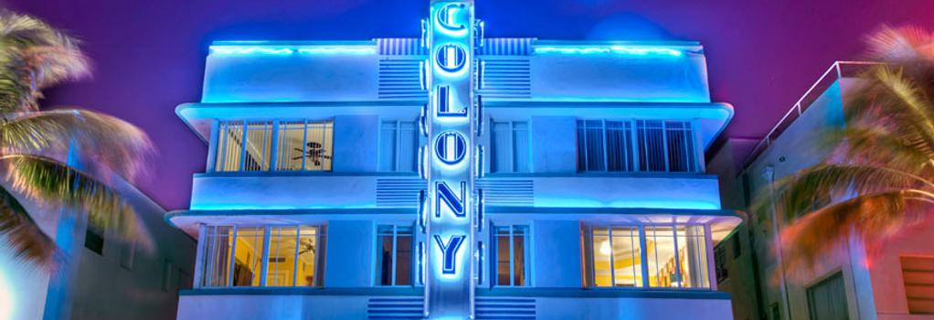 콜로니 호텔 - 마이애미비치 - 건물