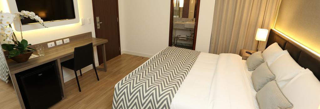 Royal Regency Palace Hotel - 리우데자네이루 - 침실