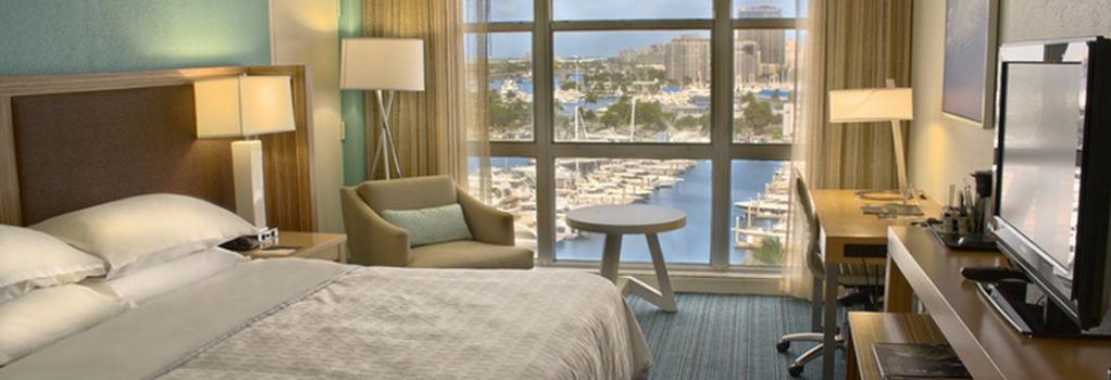 B Ocean Resort - 포트로더데일 - 침실