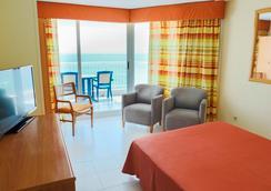Port Mar Blau (Adults only) - 베니도름 - 침실