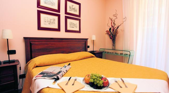 Hotel Villa Dei Giuochi Delfici - 로마 - 침실