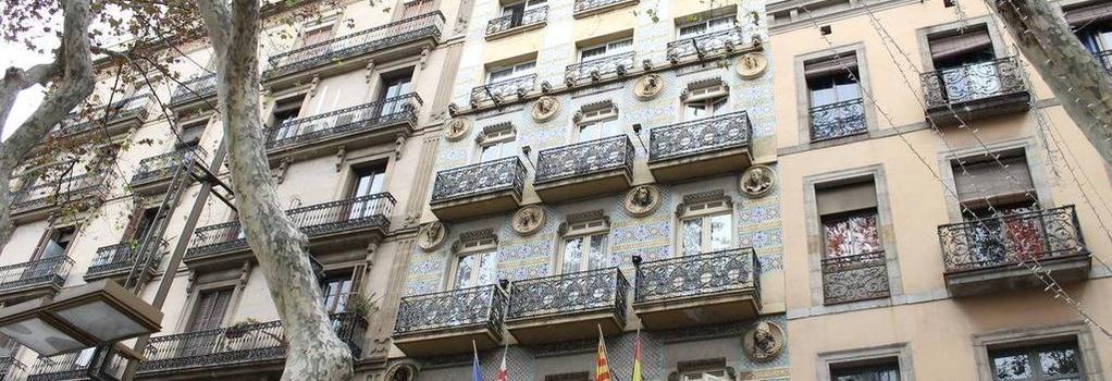 람블라스 호텔 - 바르셀로나 - 건물