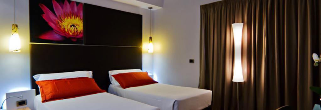 호텔 그라비나 샌 피에트로 - 로마 - 침실