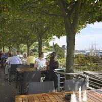 호텔 하펜 함부르크 Terrace/Patio