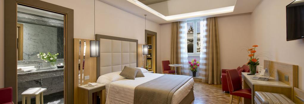 바이브 지올리 나치오날레 로마 호텔 - 로마 - 침실