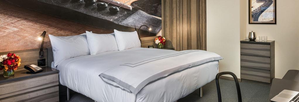 카네기 호텔 - 뉴욕 - 침실