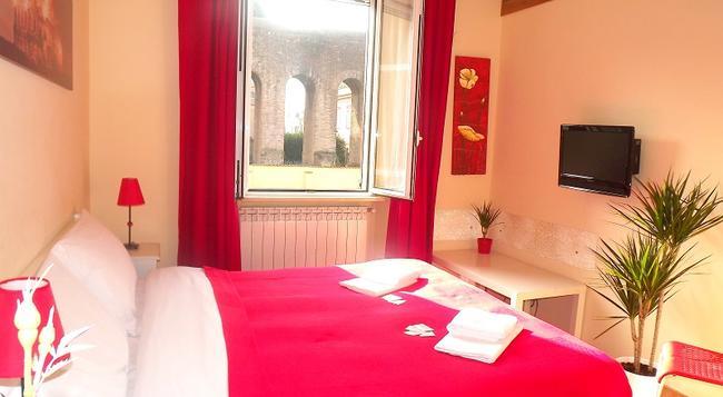 빌라 라누세이 - 로마 - 침실